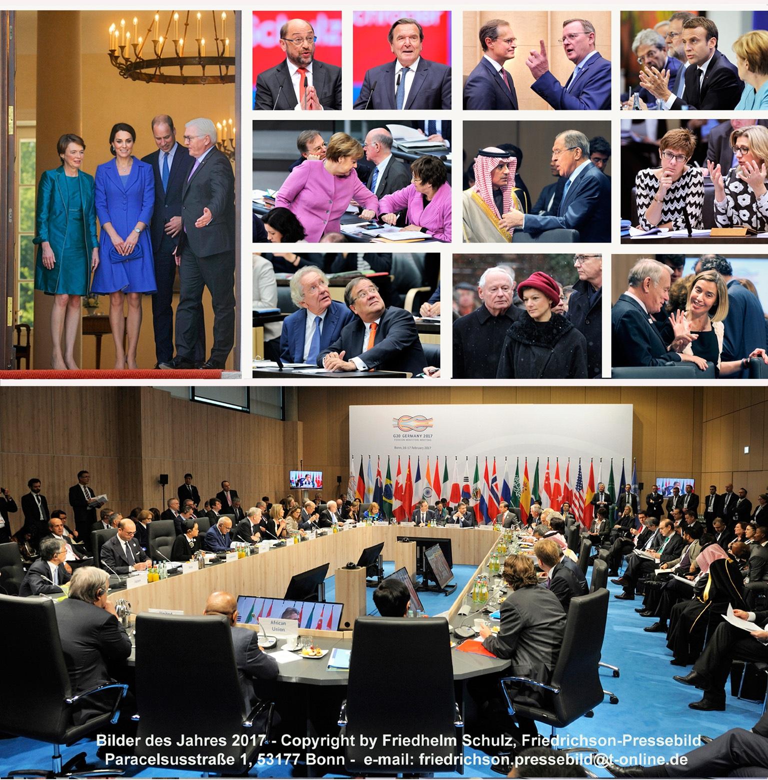 Bundespolitik - Jahresblick 2017 Fotos: Friedhelm Schulz/Friedrichson Pressebild