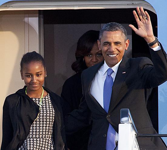 US-Präsident Barack Obama in Berlin eingetroffen