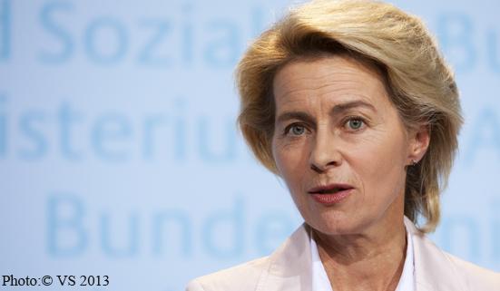 """Arbeitsministerin von der Leyen: """"Ausgangslage am Arbeitsmarkt für den Herbst ist gut."""""""