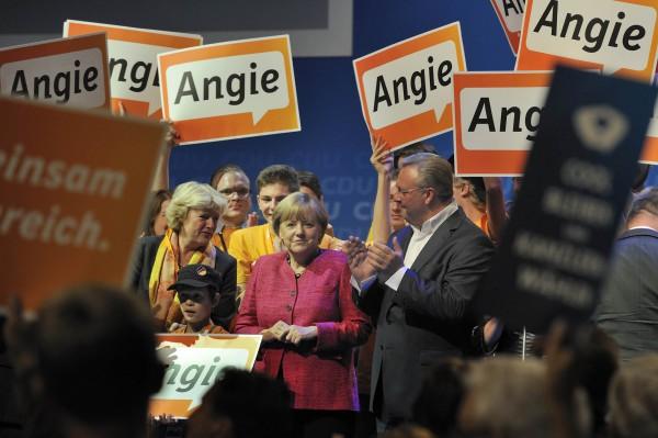 Wahlkampf-Abschluss der CDU Deutschlands, Bundestagswahl 2013.