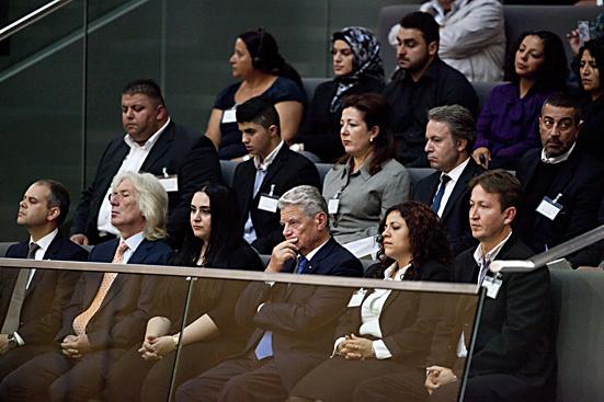 Sondersitzung im Deutschen Bundestag zur Debatte über NSU-Abschlussbericht