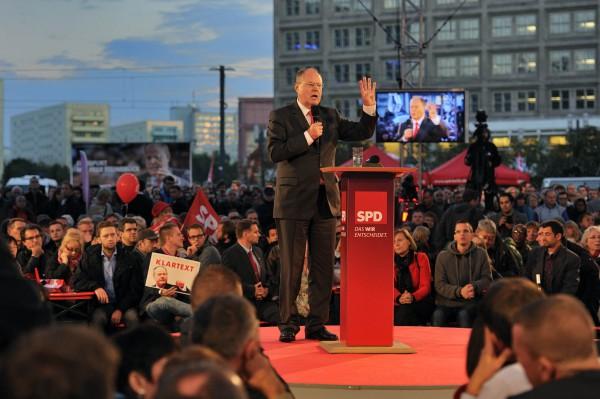 SPD-Wahlkampf, Berlin 2013