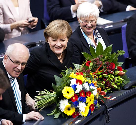 Angela Merkel wurde erneut zur Kanzlerin gewählt