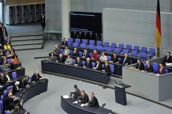 Deutscher Bundestag, Berlin, Plenarsitzung.