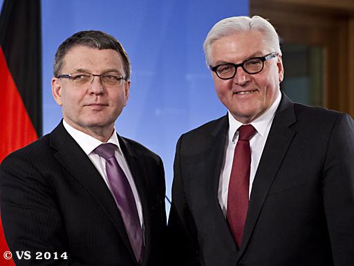 Außenminister Steinmeier trifft tschechischen Amtskollegen in Berlin
