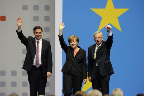 Europa-Parteitag der CDU-Deutschlands in Berlin am 5.4.2014. (Foto: Friedhelm Schulz/Friedrichson Pressebild)