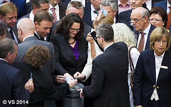 Bundestag verabschiedet Rentenpaket