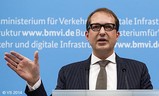 Verkehrsminister Dobrindt stellt Pkw-Maut vor