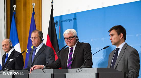 Steinmeier lädt zur Ukraine-Konferenz ins Auswärtige Amt