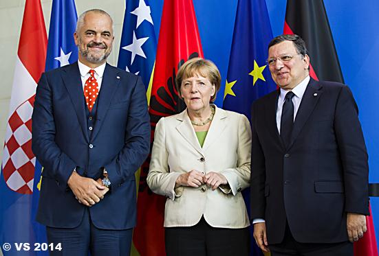 Bundeskanzlerin lädt zur Westbalkankonferenz nach Berlin ein- C