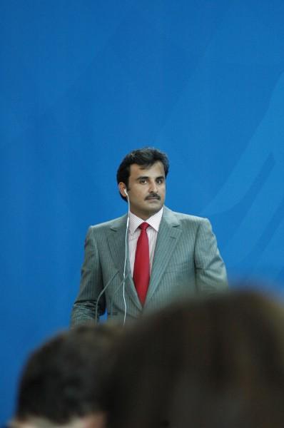 Sanfte Kritik der Deutschen Presse an Katar bei Merkelbesuch. Katar unterstützt keine Terrorgurppen in Syrien und nicht im Irak. (Foto: sylla)