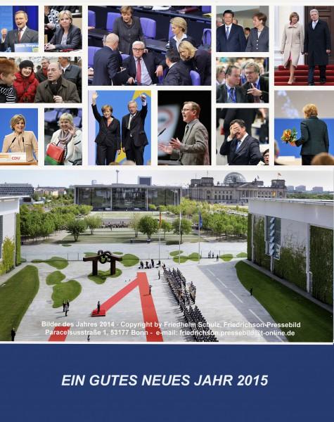 Jahresrückblick Berliner Hauptstadtpolitik (Bilder: Friedrichson Pressebild/Friedhelm Schulz, 2014)