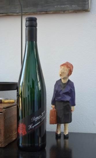 Skulptur Malgorzata Chodakowska, Wein: Heymann-Löwenstein