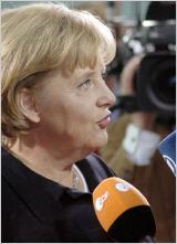 Bundeskanzlerin Angela Merkel. (Foto/Archiv: 2009/Sylla, Deutscher Bundestag nach 2. Wiederwahl als Regierungschefin)